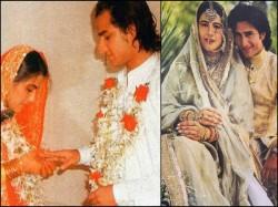 Old Photo Saif Ali Khan With Ex Wife Amrita Singh Has Become Jokes