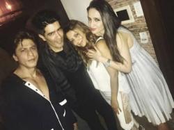 Shahrukh Khan And Gauri Snapped In Manish Malhotra Party
