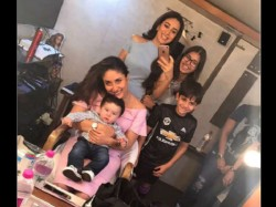 Taimur Ali Khan Makes Debut On Mum Kareena Kapoor S Set