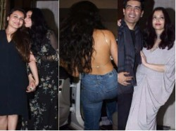 Bollywood Stars At Sridevi 54th Birthday Celebration