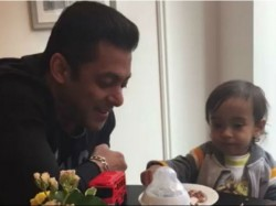 Salman Khan And Nephew Ahil Cute Video Will Make Your Day