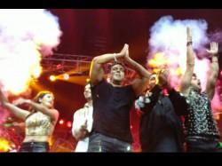 Salman Khan Other Stars Performing Dabangg Tour