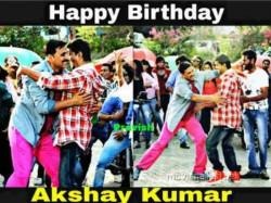 Fans Wishes Akshay Kumar Birthday On Twitter