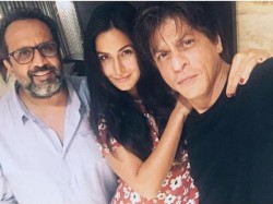 Shahrukh Khan Katrina Kaif Together With Aanand L Rai