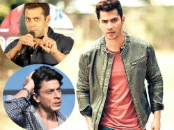 Salman Khan Shahrukh Khan Films Can Be Beaten Varun Dhawan