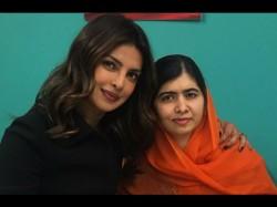 Priyanka Chopra Malala Yousufzai Are In Awe Each Other