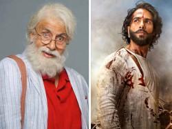 Amitabh Bachchan Rishi Kapoor 102 Not Team Upset With Padmavati Clash