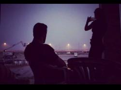 Salman Khan Katrina Kaif Latest Pic From Tiger Zinda Hai Set