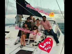 Amitabh Bachchan Family Maldives Vacation Pic