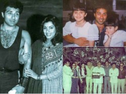 Sunny Deol Rare Pictures On His Birthday