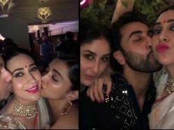 Deepika Padukone Bonds With Kareena Kapoor Khan Kisses Karisma Kapoor