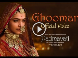 Ghoomar Song From Padmavati Is Out Now