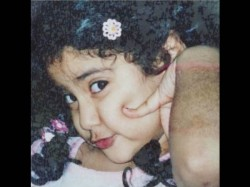 Sirdevi Shares Jhanvi Kapoor Childhood Pic And Its Adorable