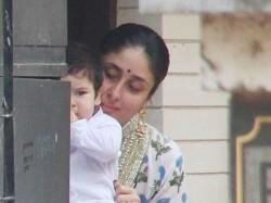 Kareena Kapoor And Taimur Clicked Together On Diwali
