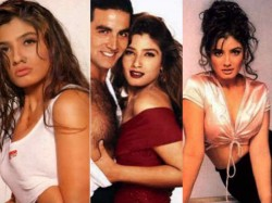 See Hot Pictures Raveena Tandon On Her Birthday