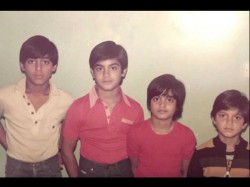 Salman Khan Shares Throwback Picture With Arbaaz Alvira