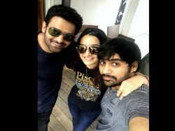 Saaho Director Sujeeth Share Pic Of Prabhas And Shraddha Kapoor