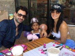 Sunny Leone And Daniel Weber Celebrate Daughter Nisha Kaur Birthday