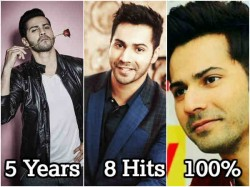 Varun Dhawan Completes 5 Years Bollywood His Box Office Analysis