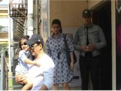 Akshay Kumar Spotted With Daughter Nitara And Family