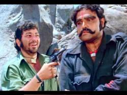 Amjad Khan Once Braught Buffalo On Film Set
