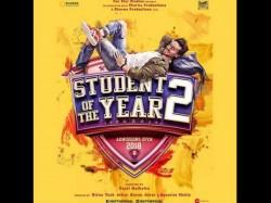 Tiger Shroff Karan Johar Student Of The Year 2 Poster