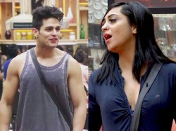 Arshi Khan Fight With Priyank Sharma Bigg Boss 11
