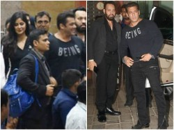 Salman Khan Family Spotted At Arpita Khan Marriage Anniversary