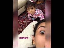 Misha Kapoor Latest Pic With Mom Mira Rajput Is Supercute