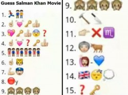Whatsapp Game Guess These Salman Khan Movies Through Emojis