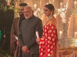 Prime Minister Narendra Modi Reaches Virat Kohli Anushka Sharma Wedding Reception