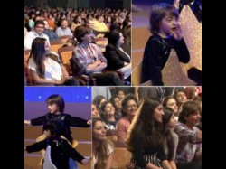 Abram Khan Performs On Father Shahrukh Khan Song On Annual Day