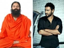 Ajay Devgn Share First Look Swami Ramdev Ek Sangharsh