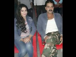 Mani Bhattacharya Romancing With Pawan In Wanted