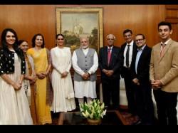 Miss World 2017 Manushi Chhillar Meets Prime Minister Narendra Modi