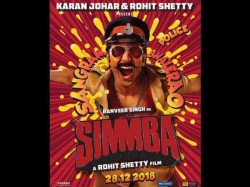 Rohit Shetty S Simmba First Poster Starring Ranveer Singh