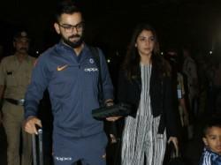 Virat Kohli Anushka Sharma Leave For South Africa With Indian Cricket Team