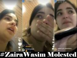 Dangal Actress Zaira Wasim Molested Breaks Down An Instagram Video