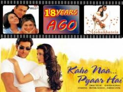 Years Kaho Naa Pyaar Hai Flashback 2000 Bollywood Films
