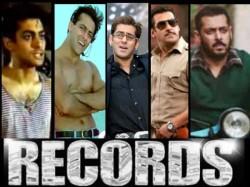 Salman Khan Talks About Records Box Office