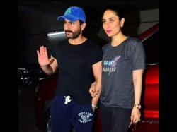 Kareena Kapoor Saif Ali Khan At Kaalakaandi Movie Screening