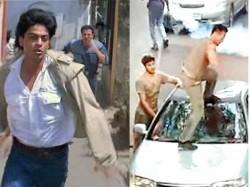 Tiger Shroff Pratiek Babbar Recreate Sunny Deol Shahrukh Khan Chase Scene From Darr