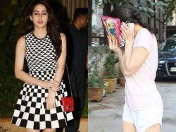 Sara Ali Khan Spotted A Spa