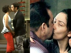 Bollywood Celebs Caught Kissing Public