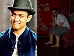 Aamir Khan Spotted Chilling Spa Bandra Aamir Khan Thugs Hindustan Look