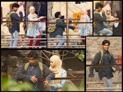 Gully Boy Shooting Ranveer Singh Alia Bhatt S First Look Leaked