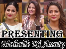 Bigg Boss 11 Finale Special 10 Times Hina Khan Behaved Like Mohalle Ki Aunty