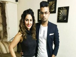 Bigg Boss 11 Fame Hina Khan Nach Baliye With Rocky Jaiswal