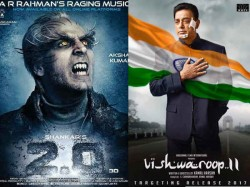 Kamal Hassan Vishwaroopam 2 Might Clash With Rajnikanth 2 Point