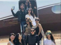 Kareena Kapoor Khan Her Gang Head Goa Amrita Arora S 40th Birthday See Pics